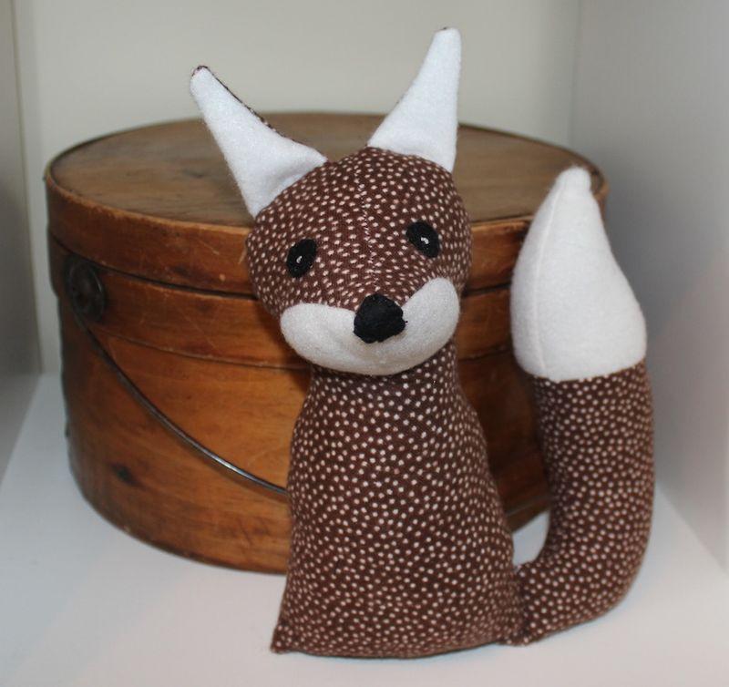 Fox with box