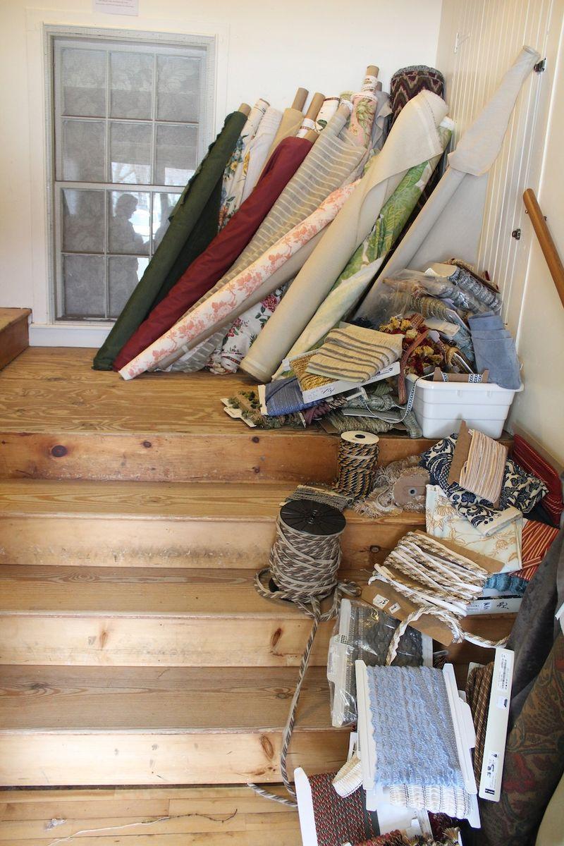 Exeter Handkerchief stairs
