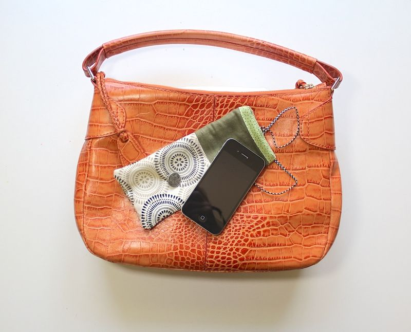 Cell phone pouch 8