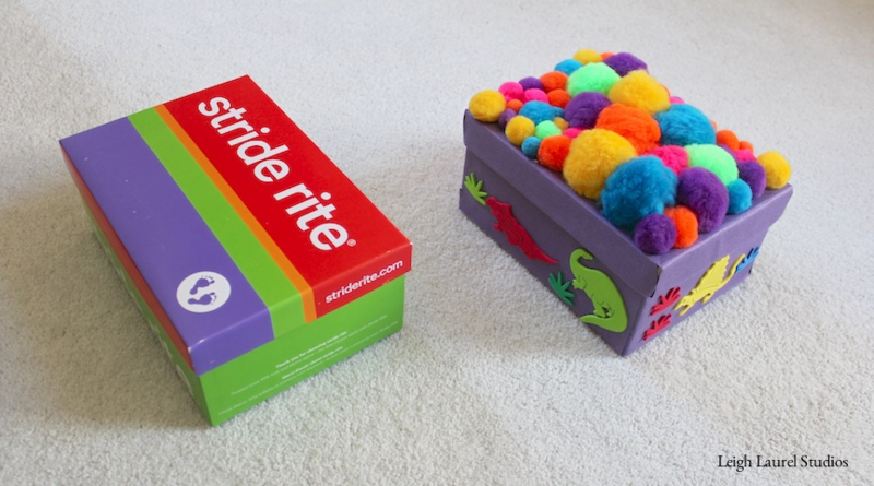 Shoebox becomes special box