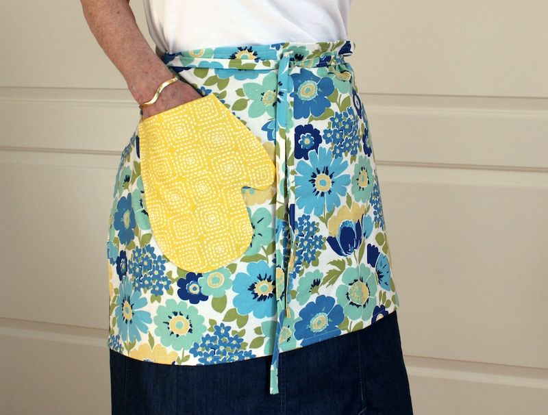 Mom in apron