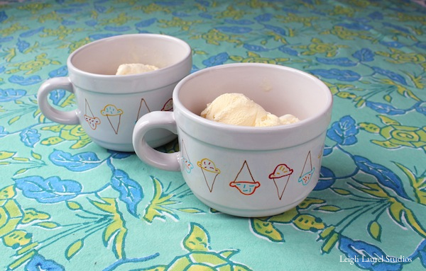 Ice cream bowls 6