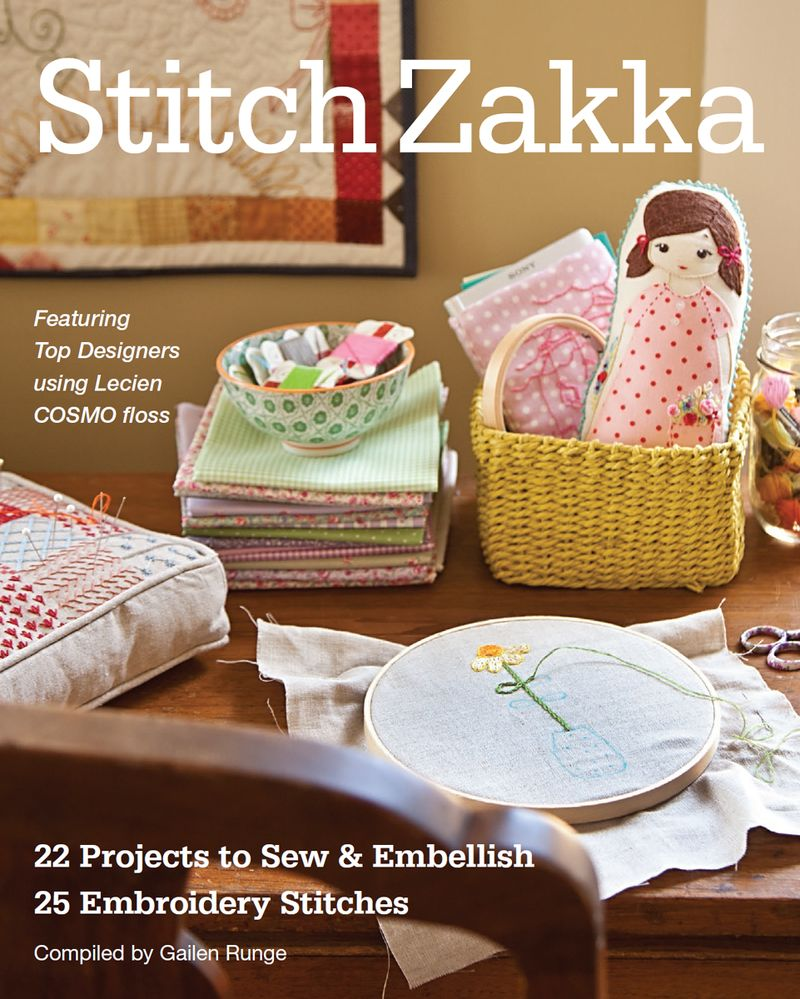 Stitch zakka cover