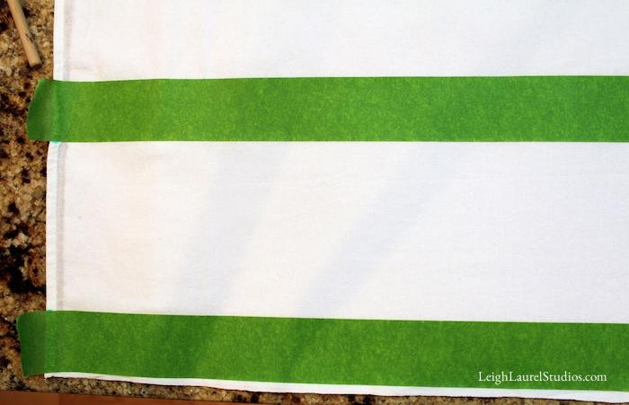Circle tea towel 2