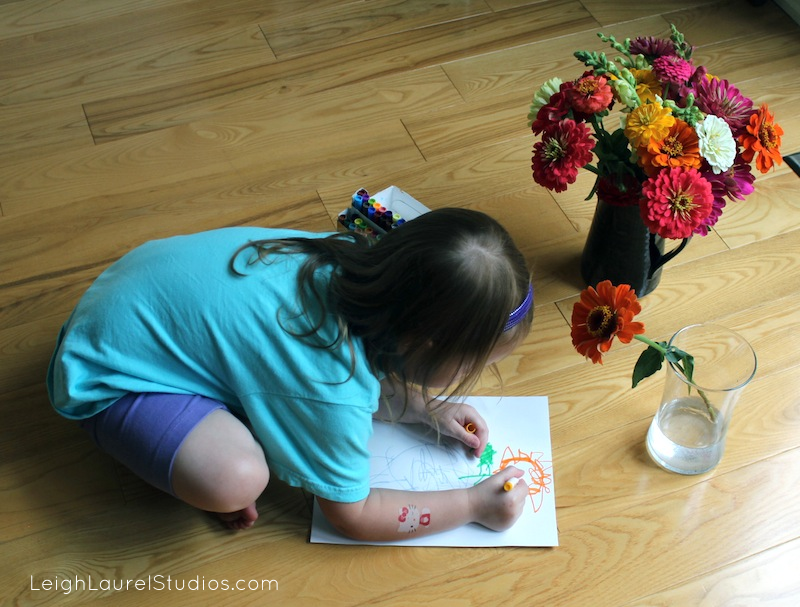 Flower drawing 9