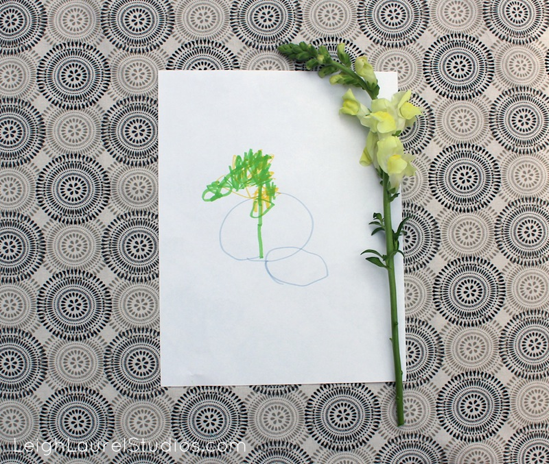 Flower drawing 12