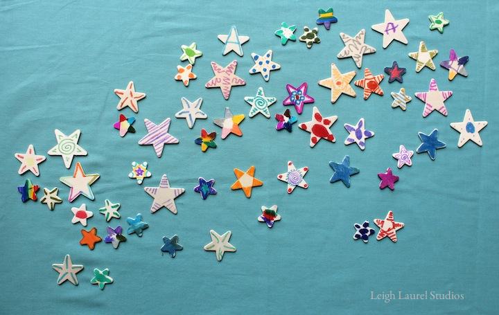 Wooden stars 4