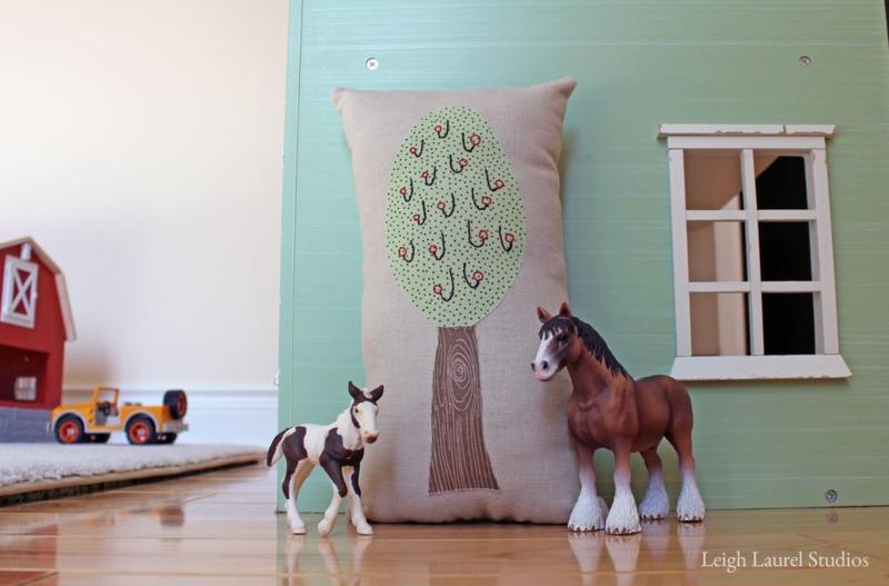 Tree and horses