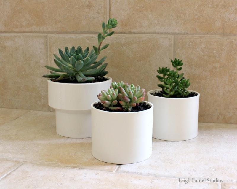 How To Make Pvc Pots For Succulents Karin Jordan Studio