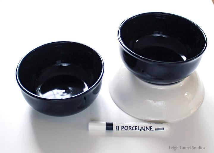 Cat bowls unpainted