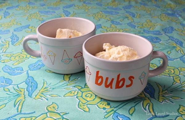 Ice cream bowls 2