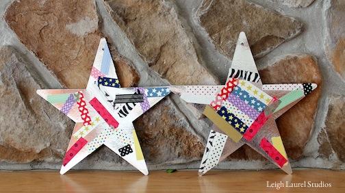 Kids washi stars