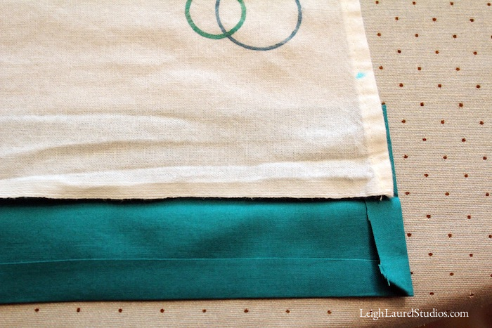 Circle tea towel 6