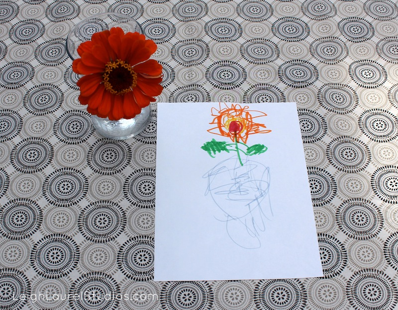 Flower drawing 11