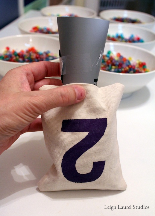 How To Make Washable Bean Bags For Hula Hoop Ring Toss