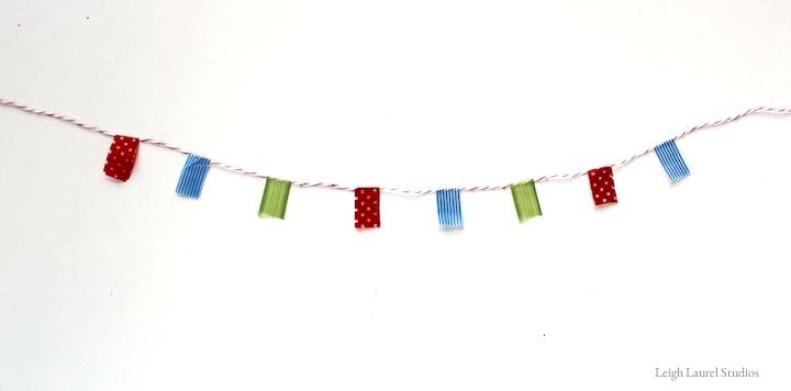 Washi banner