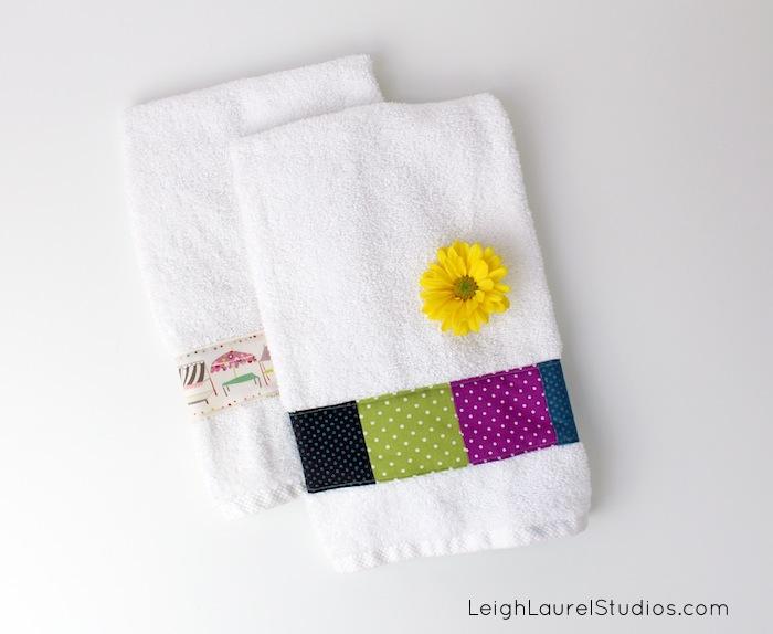 Decoracion De Baño Con Toallas:DIY Hand Towels