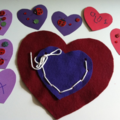 For Kids: Laced Heart Valentine
