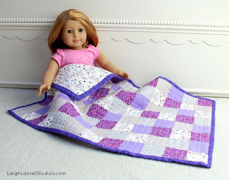 Doll quilt LLS 1