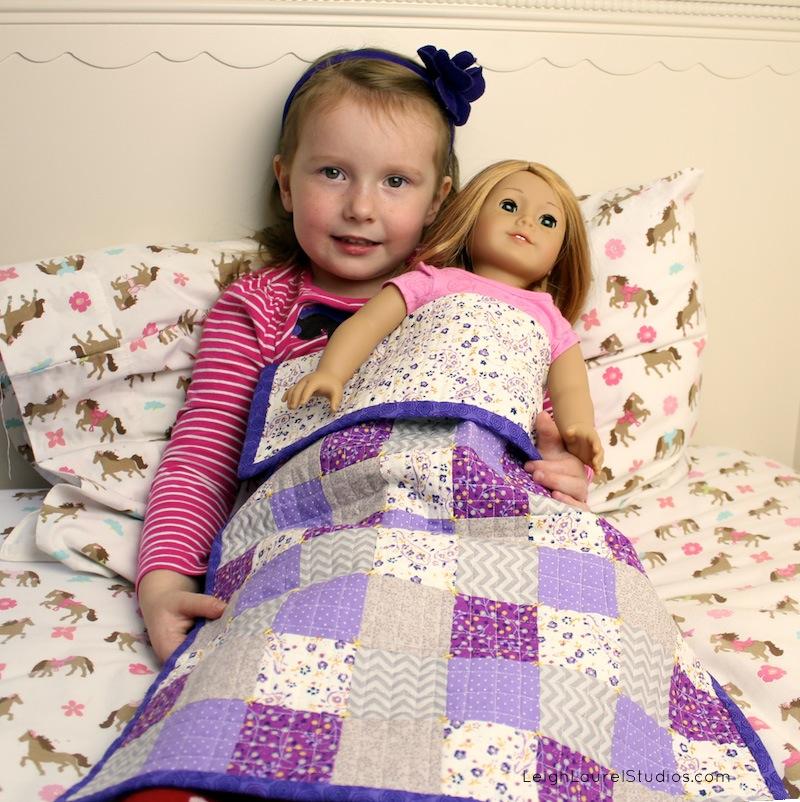 Doll quilt LLS 7