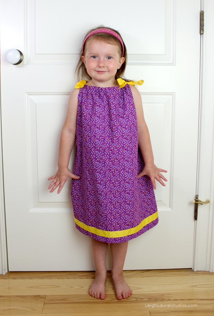 Pillowcase dress 2d