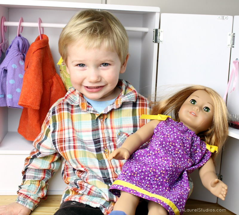 Doll with colton 3