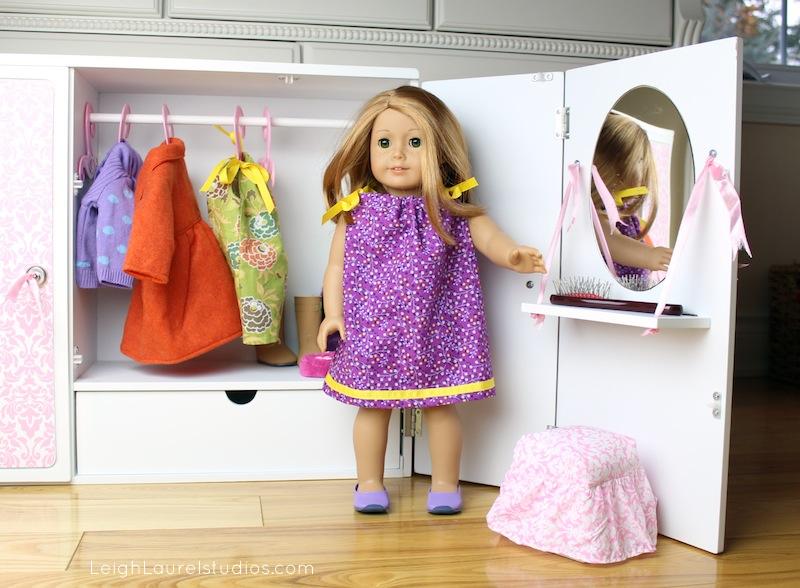 Doll pillowcase dress 1