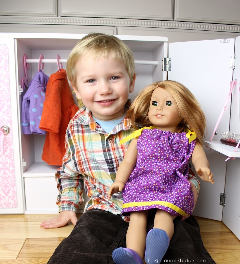 Doll with colton 1