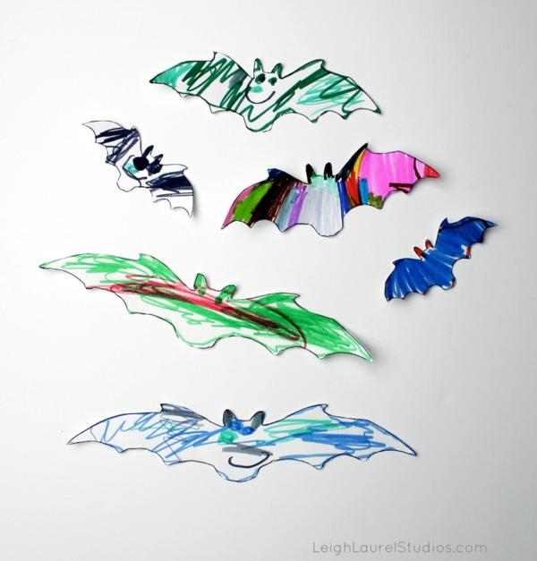 Craft with Kids: Indoor/Outdoor Craft Foam Bats - Karin Jordan Studio