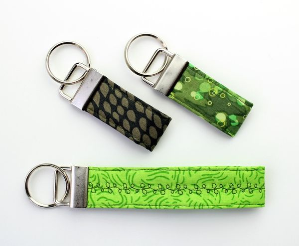 Tutorial Quilted Key Fob Wristlet Karin Jordan Studio