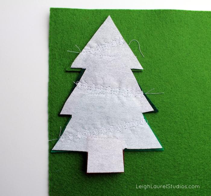 Felt tree 7