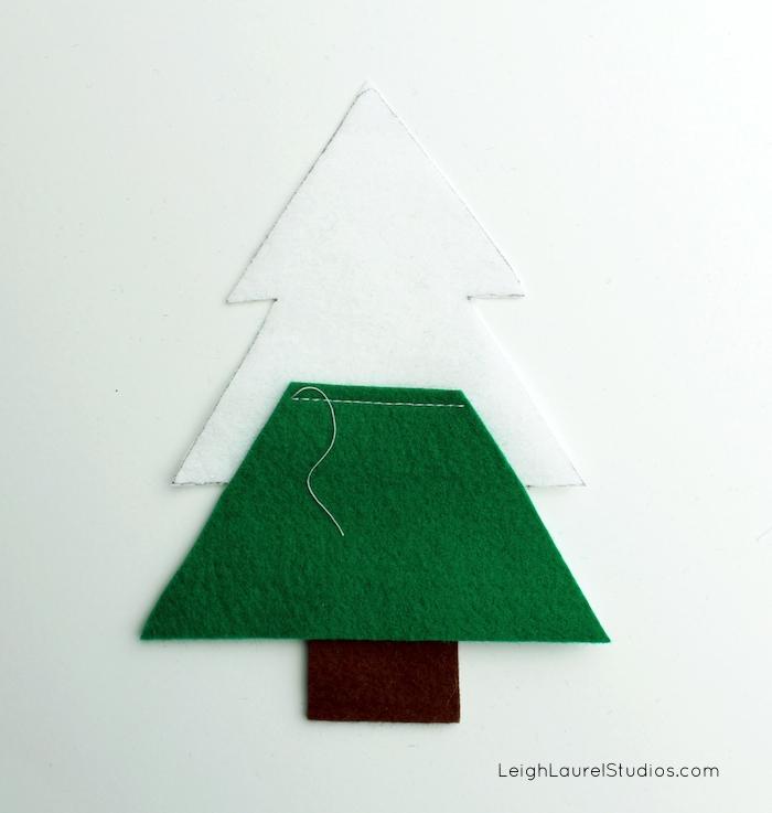 Felt tree 4