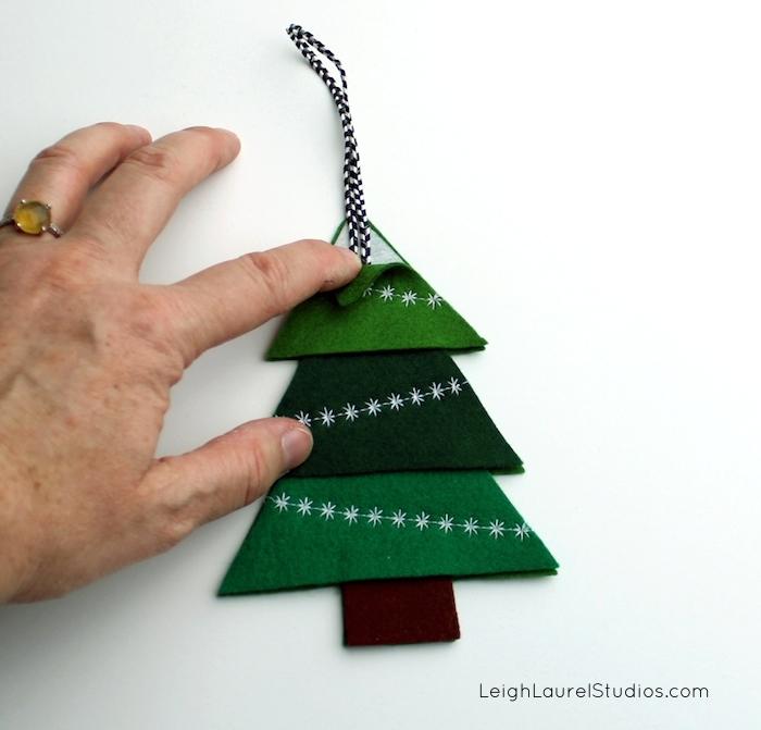 Felt tree 8