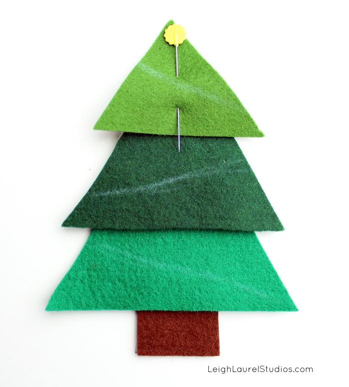 Felt tree 5