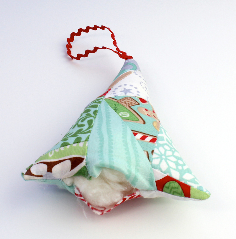 Made fabric ornament 12