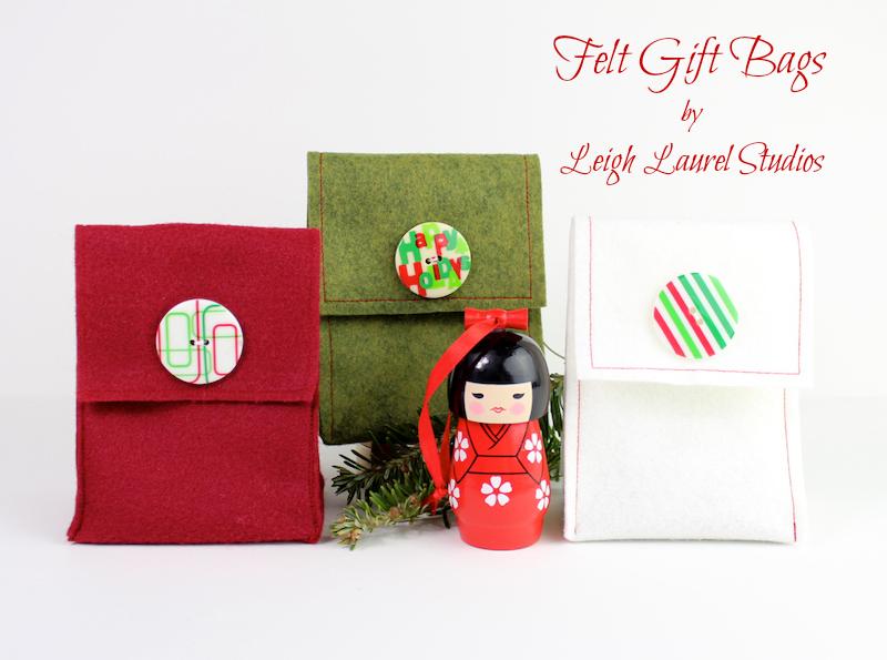 Felt gift bags pm