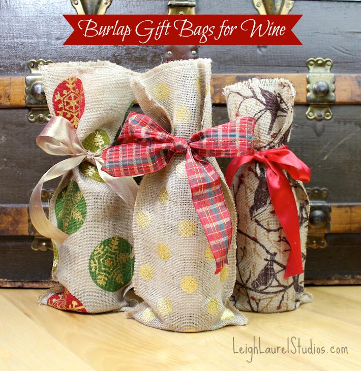 Burlap wine bags 1 pm