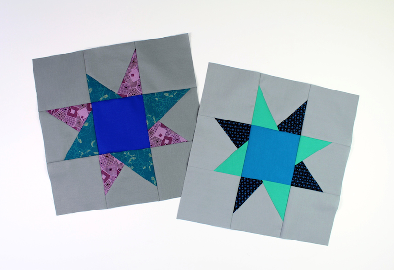 Wonky star blocks