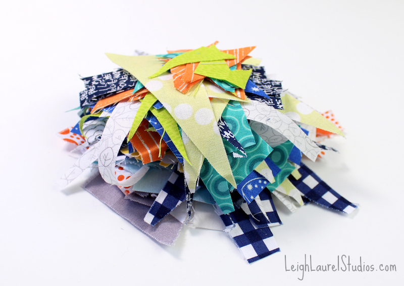 Pile of scraps pm
