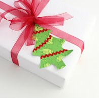 Magnetic gift tag