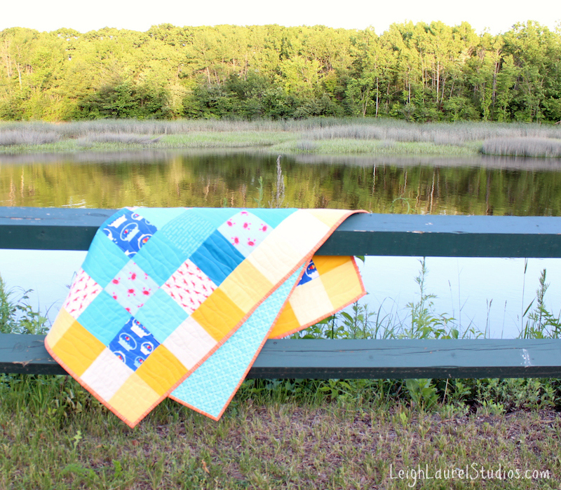 Sun and Sand Jr - a pattern by Leigh Laurel Studios