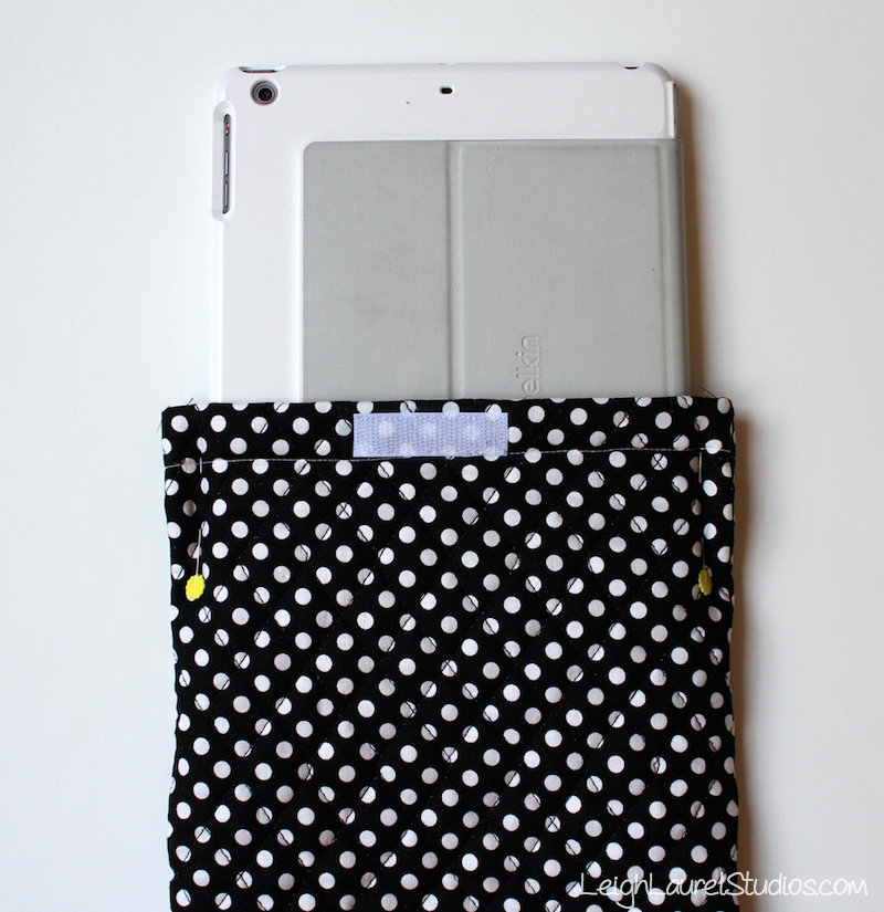 Ipad case tutorial 7 - lls