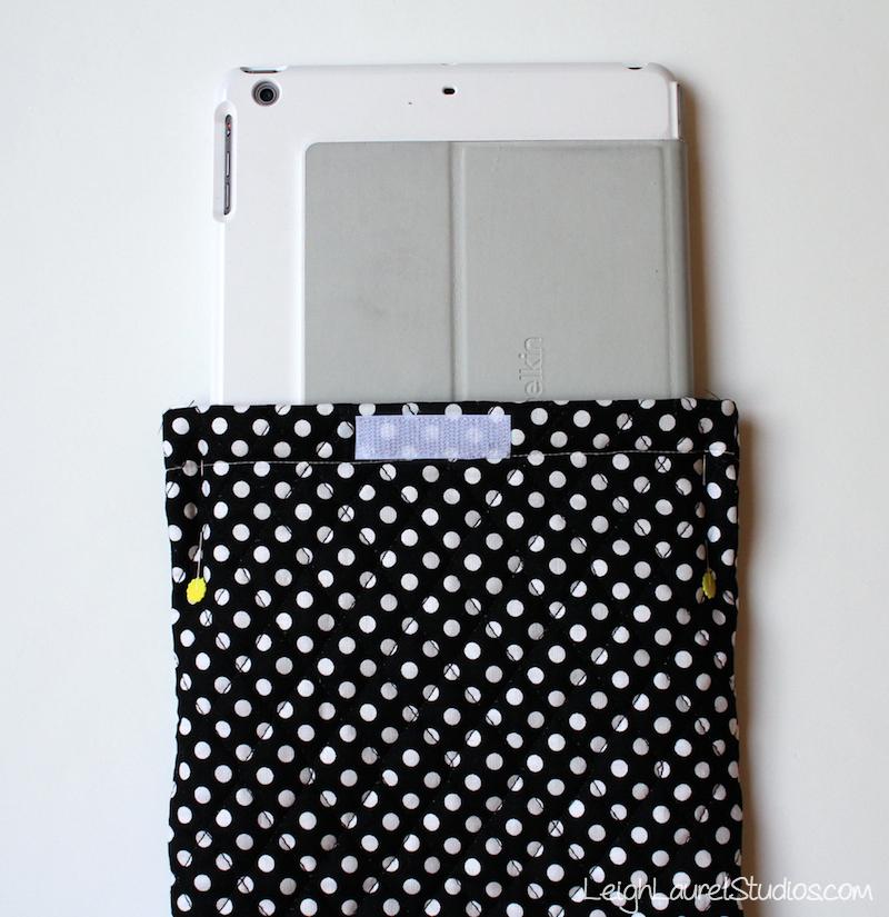 Ipad case tutorial 7 - lls