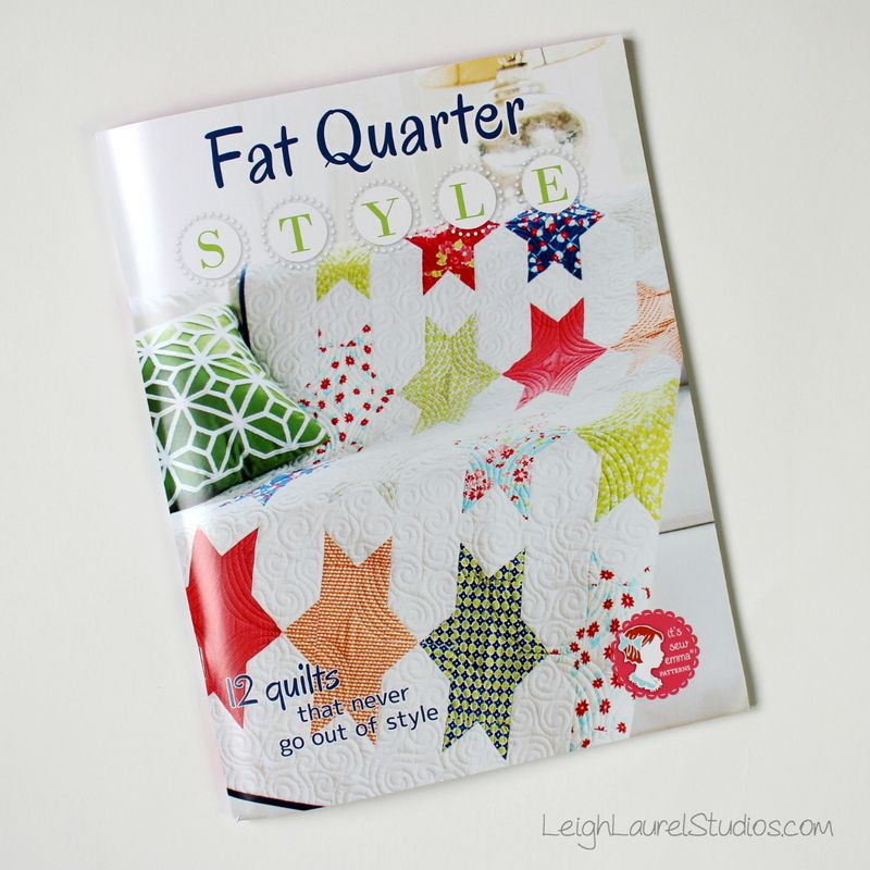 Fat Quarter Style book - It's Sew Emma Patterns