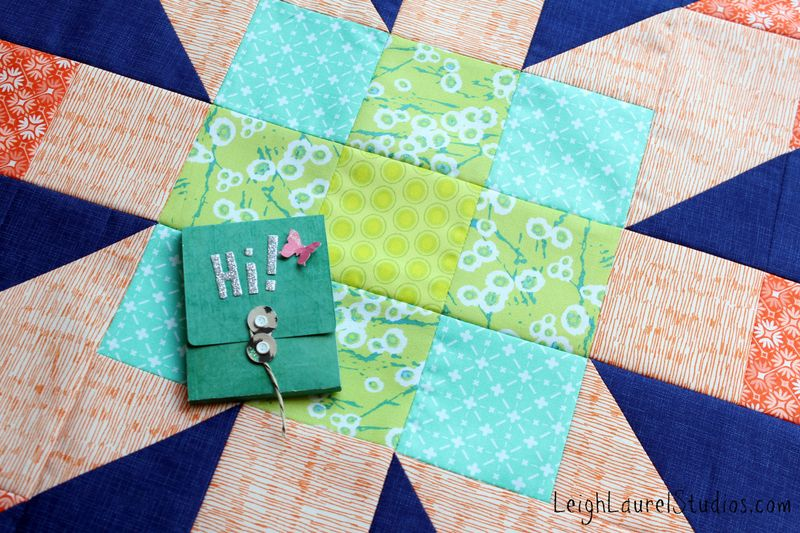 Matchbox - quilty mail by Karin Jordan for Sizzix