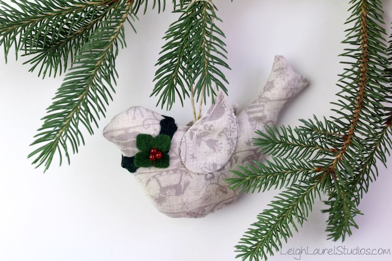 Bird ornament by Karin Jordan - Leigh Laurel Studios.jpg
