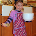 Childs apron - projects