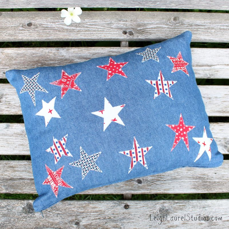 Star pillow - leigh laurel studios