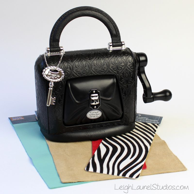 A_ sizzix sophisticut with leather