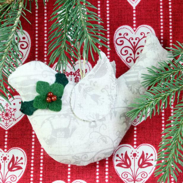 Bird ornament by Karin Jordan of Leigh Laurel Studios copy